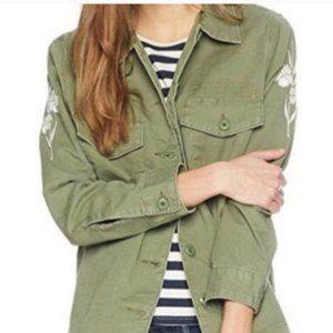 Levi's Women's Green Embroidery Jacket. XS.